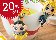Ochatomo Series Naruto Shippuden Konoha's Break Time -Kai!-: 1Box (8pcs)