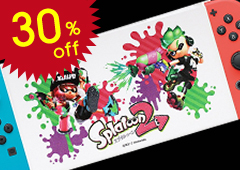 Nintendo Switch: Cover with Stand Splatoon 2: Inkling Boy & Inkling Girl