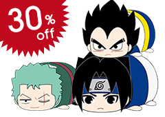 Weekly Shonen Jump 50th Anniversary Jump All Stars PoteKoro Mascot Petite Vol.2 (Reissue): 1Box (10pcs)
