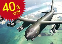 B-52G U.S.A.F Stratofortress Strategic Bomber