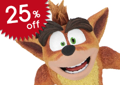 Crash Bandicoot: Crash Bandicoot 5.5-inch Action Figure
