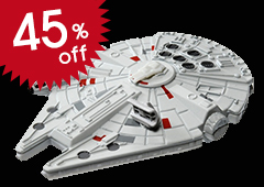TSW-08 Tomica Star Wars: The Force Awakens Millennium Falcon
