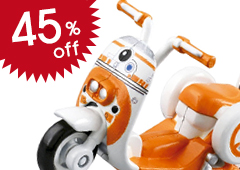 Star Wars Star Cars: SC-02 BB-8 Scooter
