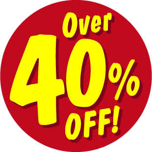 Items Over 40% Off