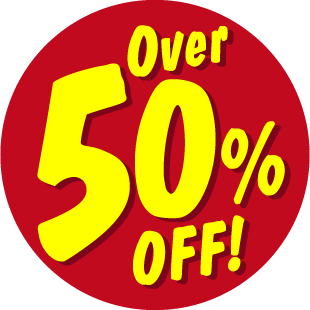 Items Over 50% Off