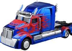40% Off! 1/32 Transformers Die-cast Vehicle The Last Knight Ver. Optimus Prime