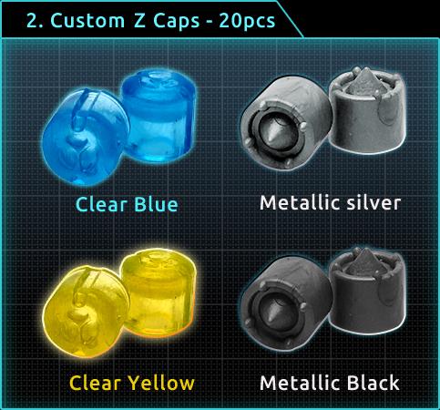 Custom Z Caps x20